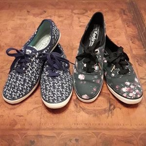 Bundle of 2 Floral Printed Keds